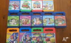 Kids dvd for sale. captain mack. 2 play school. 5 in