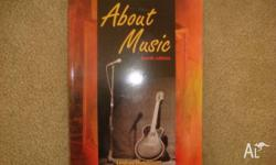 About Music. Fourth edition. In excellent condition