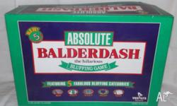 Absolute Balderdash The Hilarious Bluffing Board Game