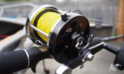 In Excellent Condition spooled with 40lb PowerPro.