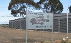 - SELF STORAGE UNITS LOCATED IN KINGSCOTE ON KANGAROO
