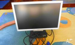 Selling my allmost new Accer Computer Screen. Very nice