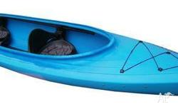 This easy paddling double is even good for the dog to