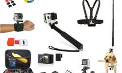 We have a full range of accessories for GoPro Hero 4,