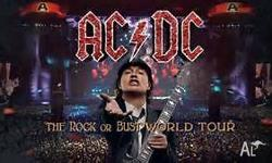 ACDC tickets, 2 GB section Oval standing, (2x $165