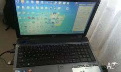 selling my acer laptop it has 4gb ram,500gb hard