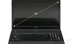 ACER ASPIRE 6930g 16 inch laptop INTEL CORE 2 DUO P8400