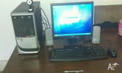 "Acer Aspire T135 Desktop in good condition. 17"" LCD"