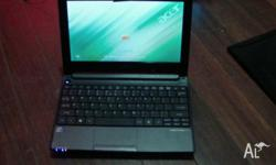 acer aspire one notebook dual core with windows 7. 10