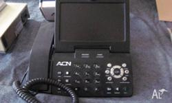ACN Videophone allows you to see the person your