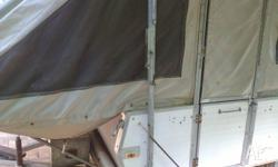 Camper is in good condition, good foam mattresses, new