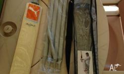 Brand new cricket set all packaged up, comes with