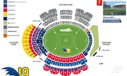 $99 per ticket. 3 Tickets to Match at Adelaide Oval on