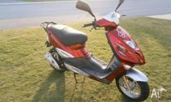 Im selling a Adley Scooter/Moped, Its in excellent