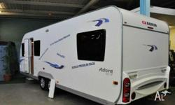 ADRIA ADRIA662UP, Caravan, 21 FT, Tare Weight 1424 kg,