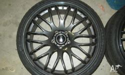 4 used Advanti Madrid's 20x8.5 5x120 2 have very minute