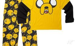 Kids size 14 'Adventure Time' pyjamas OFFICIAL