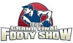 2x tickets to AFL grand final footy show at the Rod