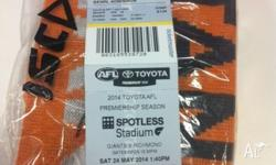 GWS Giants tickets, for Saturday game with Richmond.
