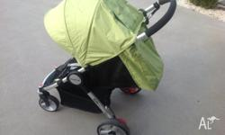 Very Comfortable, reliable model pram which weighs 8