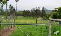 Acres of excellent horse pasture available in