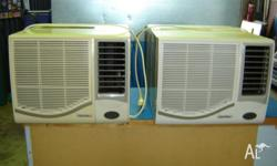 2 Centrex air conditioners with manuals in perfect