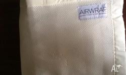 Air Wrap cot bumpers made from breathable mesh fabric