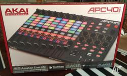 Hi, For Sale I have the Akai APC 40 MKII that I