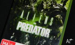 XBOX 360 Aliens vs Predator game. I am selling some of