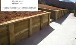 - RETAINING WALLS - FENCING SUPPLIES & INSTALL -