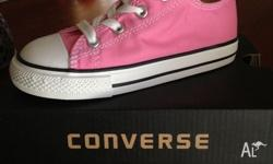 Girls All Star Chuck Taylor Converse US9. Brand New.