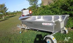 Alley craft 310 rover no dings or leaks, set up for