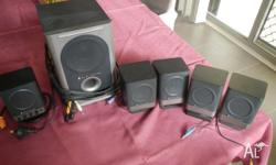 Altec Lansing 251 Amplified speaker system These