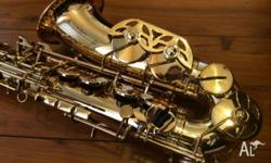 I am the second owner of this alto sax - spent three