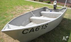 This De Havilland boat is 3.4 mtr long & has a beam of