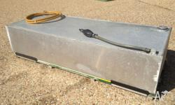 120 lt reinforced aluminium fuel tank with breather and