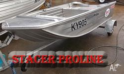 STACER PROLINE 3.2 The hull is deep and wide and will