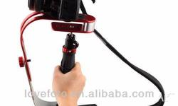 Aluminum Red Handheld Steadicam Stabilizer Steadycam