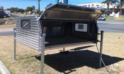 We Custom Build All Sizes for Canopy (Single Cab, Dual