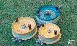 6 inch Alvey reel in very good condition complete with