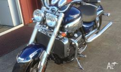 I am reluctantly selling my beautiful Triumph Rocket