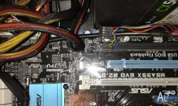 AMD fx6300 and M5A99X EVO R2.0 Both are used.WARNING