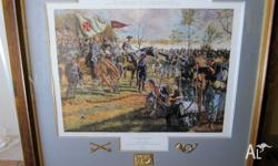 Limited edition Rick Reeves American Civil War print