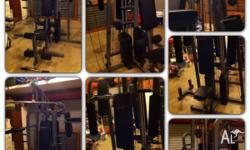 American Fitness 7 in 1 home gym. Suit new buyer,