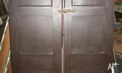 CUPBOARD DOORS of Edwardian style STOCK #214 SIZE 1210