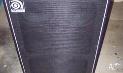 "AMPEG CLASSIC 6x10"" speaker cab, good condition/barely"
