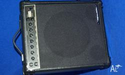 REALISTIC GUITAR AMPLIFIER 240volts Consumption 38