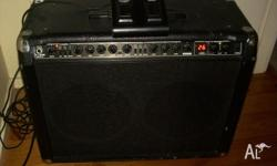 As Pictured Behringer Amplifier ( V-Tone GMX-210 ). Amp