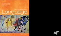 AN INTRODUCTION TO LANGUAGE is ideal for use at all