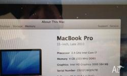 "Selling a execellent MacBook Pro 15.4"" Model Octorber"